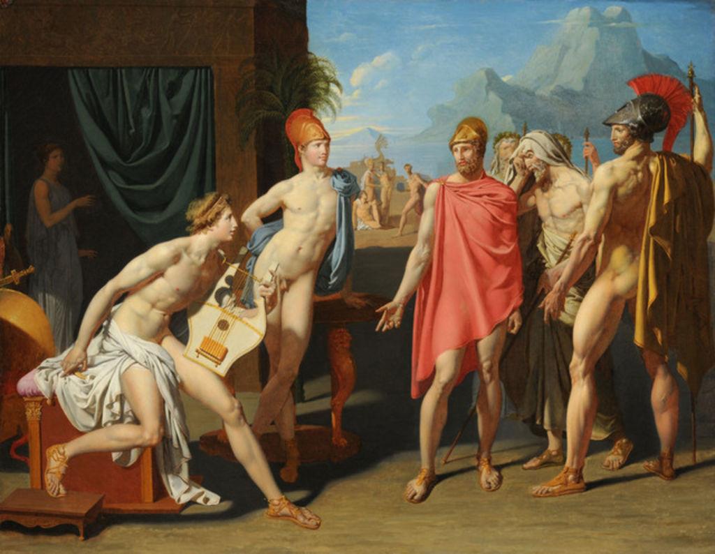 Jean-Auguste-Dominique_Ingres_-_Achilles_Receiving_the_Ambassadors_of_Agamemnon,_1801
