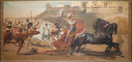 The__Triumph_of_Achilles__fresco,_in_Corfu_Achilleion