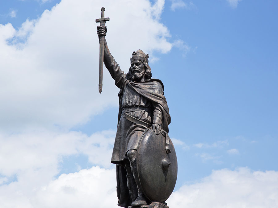 Alfred the Great (871-899) – Great Books Guy
